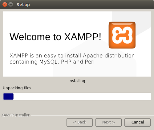 Open php file with xampp